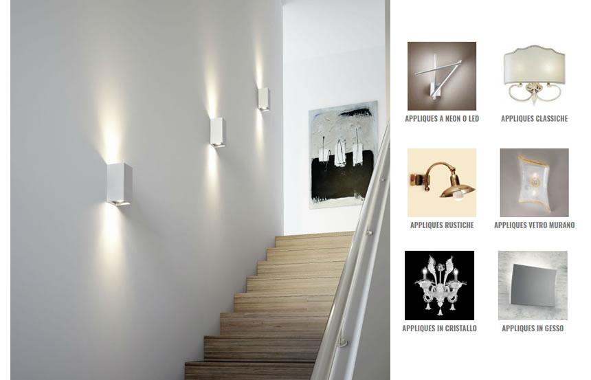 Lampade a parete classiche. free lampade a parete classiche with