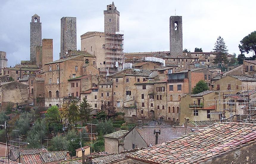 San Gimignano Crollo Mura Cronaca Valdelsa Net